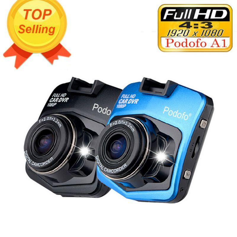 2017 New Original Podofo A1 Mini Voiture DVR Caméra Dashcam Full HD 1080 p Vidéo Registrator Enregistreur G-capteur nuit Vision Dash Cam