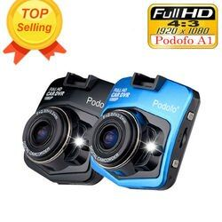 2017 Nuevo original podofo A1 mini coche DVR Cámara dashcam Full HD 1080 p video registrator Recorder g-sensor night Vision Dash cam