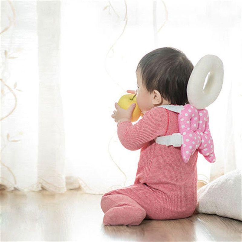 Bebés y Niños Almohada Almohadilla de Protección de La Cabeza la Cabeza Del Niño de Cuidado de la Espalda Resistencia Prestar Crawl Producto de Seguridad Infantil Cojín T30