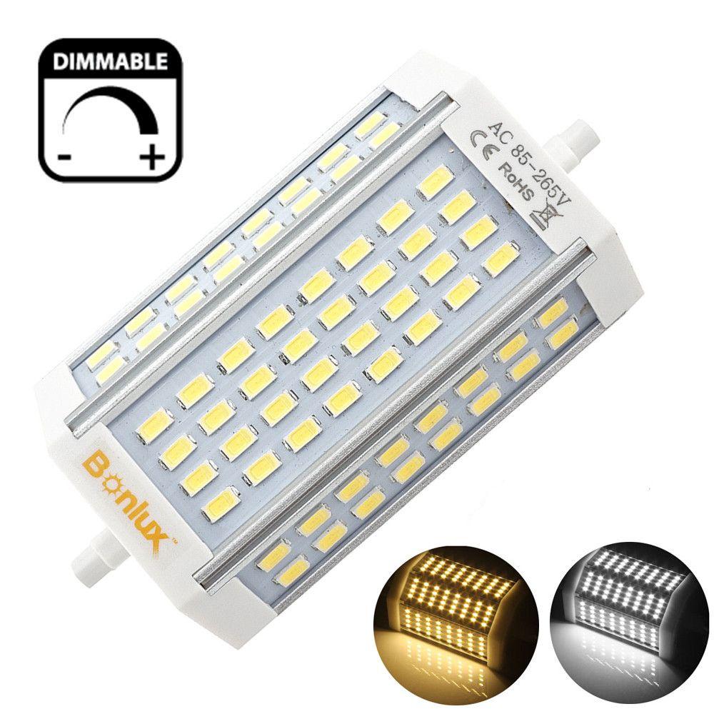 LED R7S 30 W Dimmable Ampoule À Double Extrémité J Type J118 LED Projecteur avec 300 W R7S Halogène Ampoule remplacement