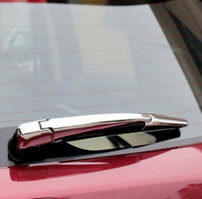 3 Pcs/Set ABS Chrome Rear Wiper Blade Cover Sticker Car Decoration for Honda HRV HR-V Vezel 20104 2015 2016 Accessories
