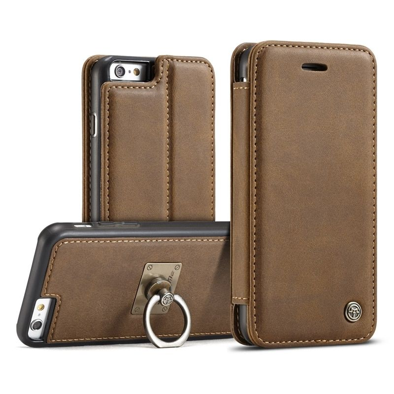 I6 Genuine Leather Wallet sFor Apple iPhone 6s Case Flip Cover for iPhone 6 Book Style Mobile Phone Bags for iPhone 6 6 S Case