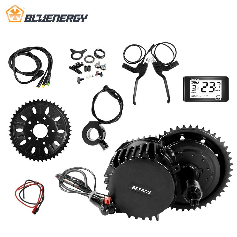 48V 1000W 68mm New design Bafang/8fun BBSHD mid crank drive motor kits C965 lcd display Motor kit eletric bicycle ebike kits