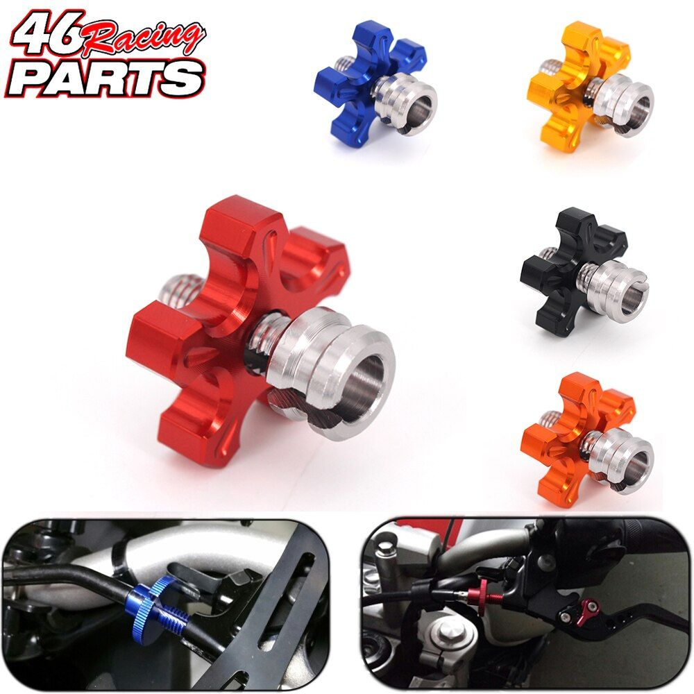 CNC M8 Motorcycle Clutch Cable Wire Adjuster For HONDA CB650f Crf 230/250/450 Dio Crf250r Vtx Cb190r Cbr1100xx XR250 Accessories