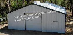 Pre engineered baustahl kleine auto garage