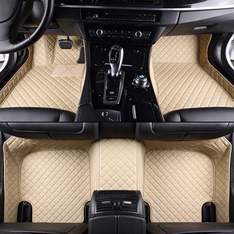 Custom car floor mats for Acura All Models MDX RDX ZDX RL TL ILX TLX CDX car accessories AUTO sticker