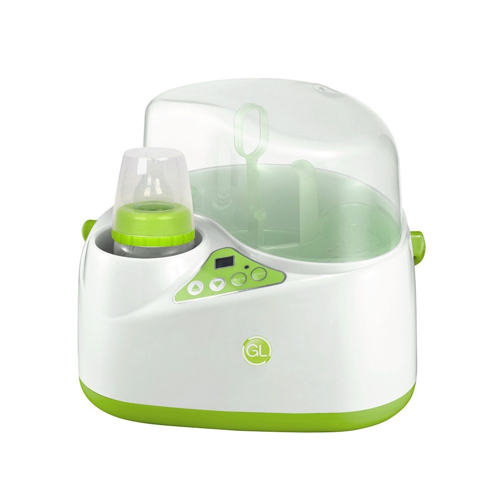 2in1 baby Bottle Sterilizer, Multifunction with milk warming and sterilizing Baby feeding bottle Big Capacity LCD