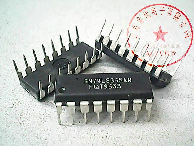 10Pcs SN74LS365AN 74LS365 New