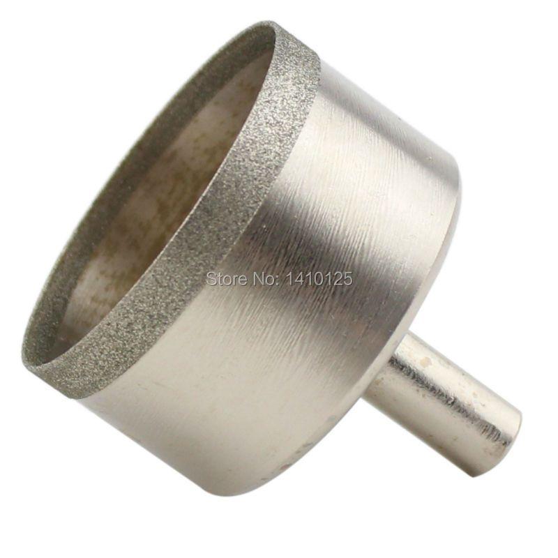 30-60mm Super-mince diamant trou scie enduit noyau foret 0.6mm jante lapidaire bijoux outils maçonnerie forage pour pierre gemme verre