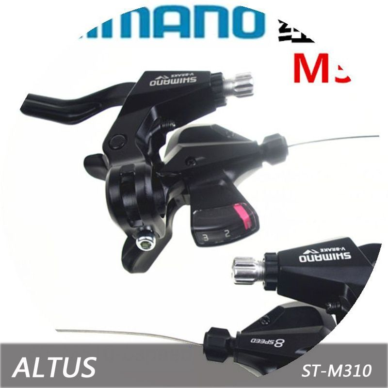SHIMANO ALTUS M310 conjoined DIP with brake handle 24 speed bicycle derailleur MTB bike road cycling thumb Shifter