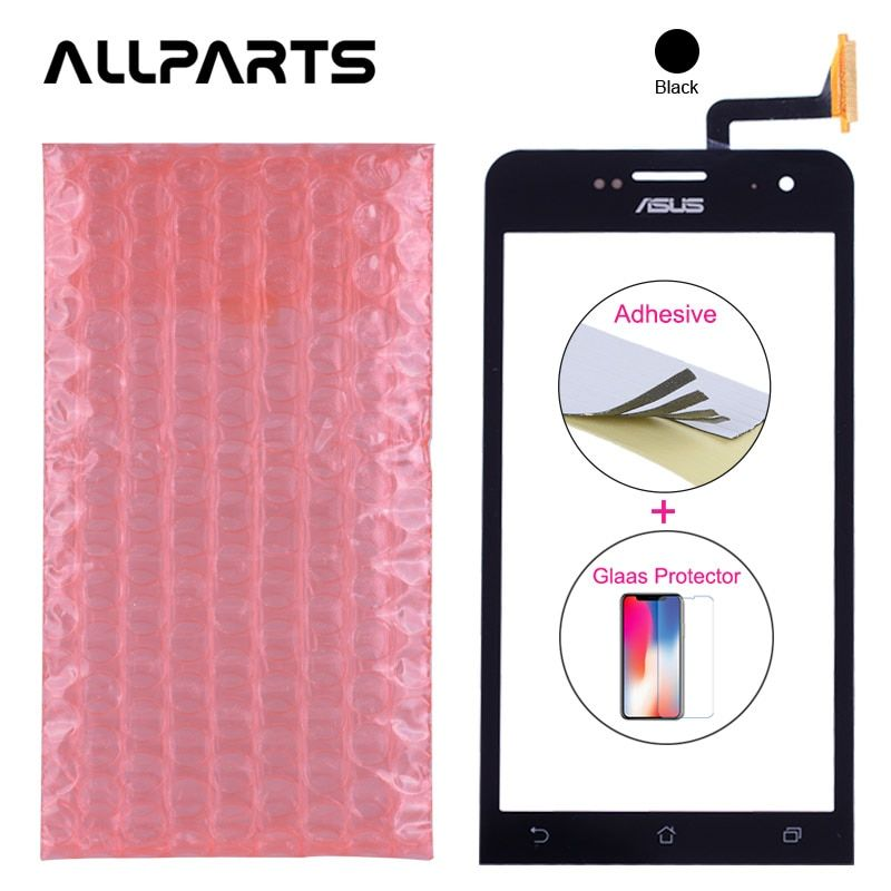 Original 5.0'' Touch For Asus Zenfone 5 Touch Screen A500CG A500KL A501CG T00J Front Glass Panel Digitizer Replacement Parts