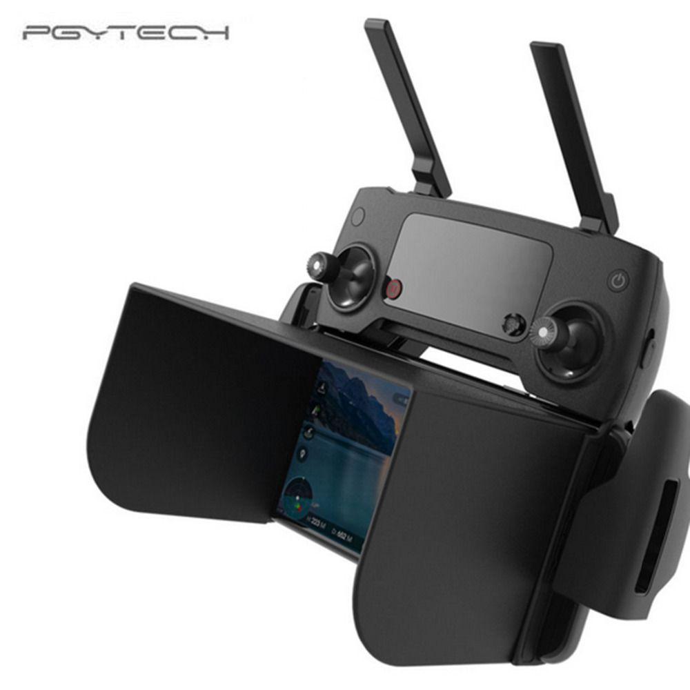 PGYTECH 5 SIZE Monitor Sun Hood Cover Sun Shade for DJI Mavic pro Osmo DJI Phantom 4/3 RC Drone Profissional Accessories - Black