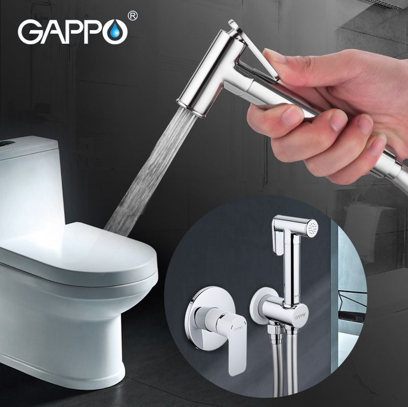 Gappo Bidet Faucets Brass Bathroom shower tap bidet toilet sprayer Bidet toilet washer mixer shower ducha higienico bidet spray