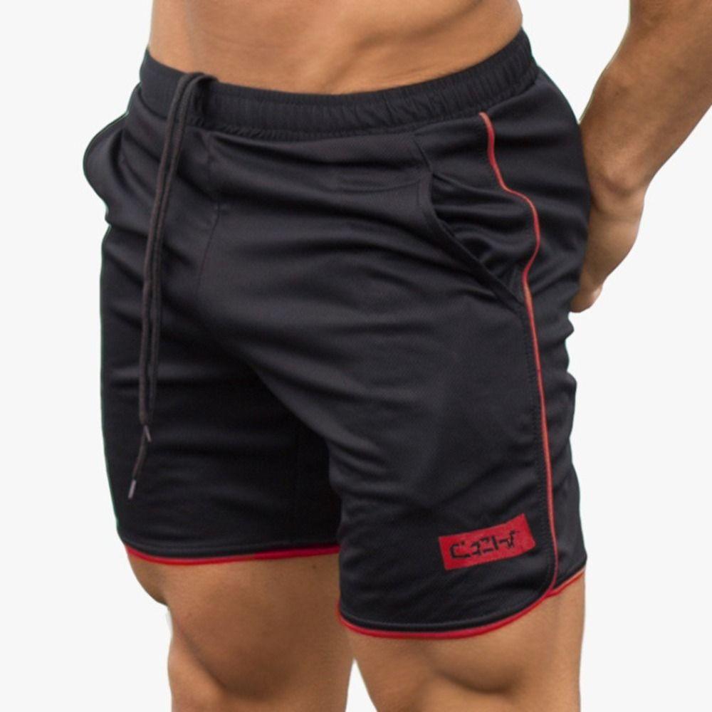 2019 Quick Dry Men's Swimming Trunk Surf Board Shorts Swimsuit Shorts Trunks Boxer Swimwear Beach Wear Summer Sporty Panty Black