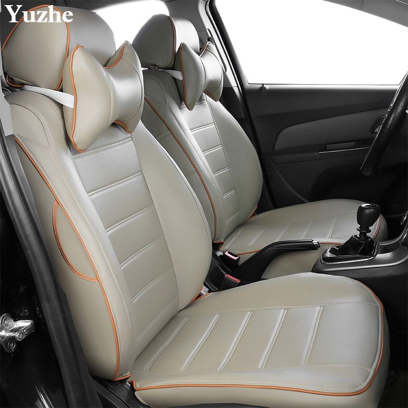 Yuzhe (2 Front seats) Auto automobiles car seat cover For Honda Accord FIT CITY CR-V Odyssey Element Pilot 2016~2011 accessories