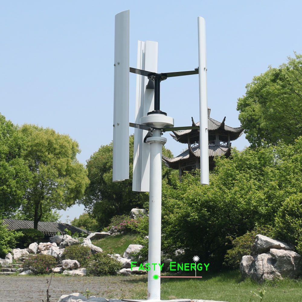 3 klingen 600 w vertikale wind turbine generator magnet genertor 12 v/24 v mit wind solar hybrid ladung controller kostenloser engergy