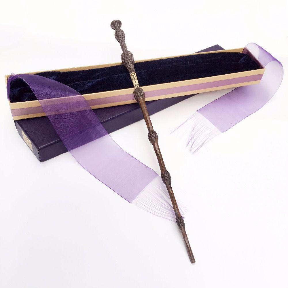 Colsplay New Arrive Metal/Iron Core Sirius Dumbledore Old Wand/ HP Magic Magical Wand/ Elegant Ribbon Gift Box Packing