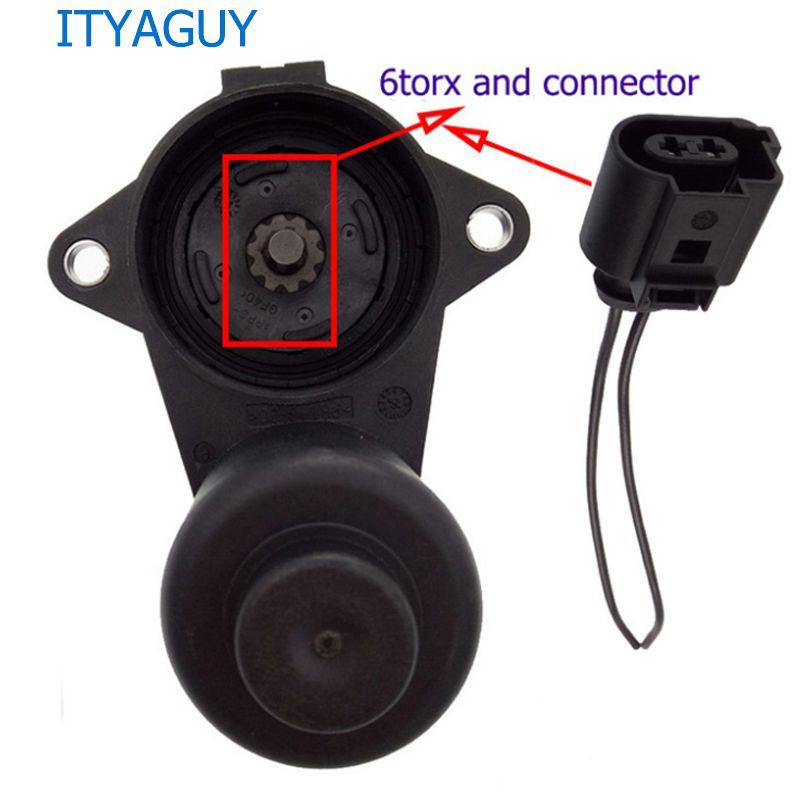 6/12 Torx Wheel Handbrake Brake Caliper Servo Motor 3C0998281A 3C0998281B 32330208 3C0998281 for VW Passat B6 B7 Tiguan Audi Q3