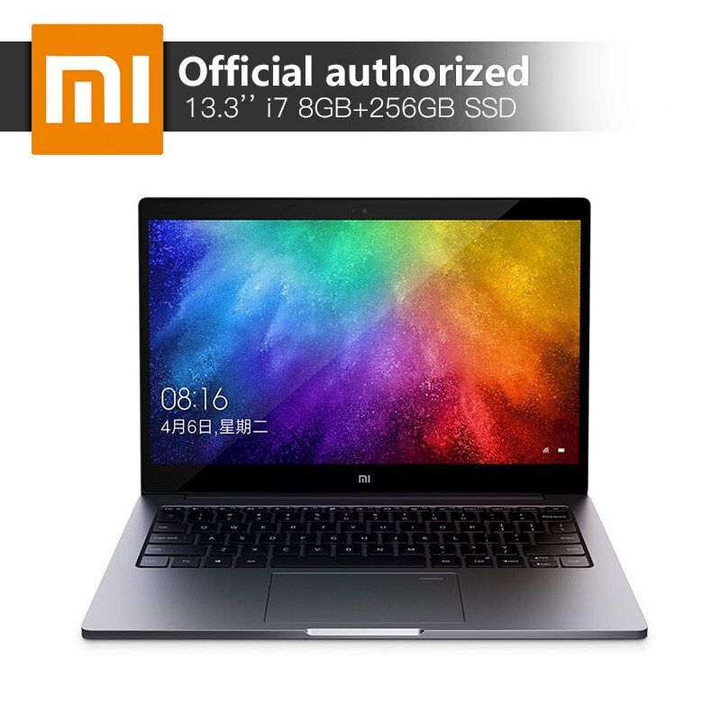 Xiaomi 13,3 ''Laptop Intel Core i7-8550 Quad Core CPU 8 gb RAM 256 gb SSD 2 gb GDDR5 Ultraslim notebook mit Fingerprint Erkennen
