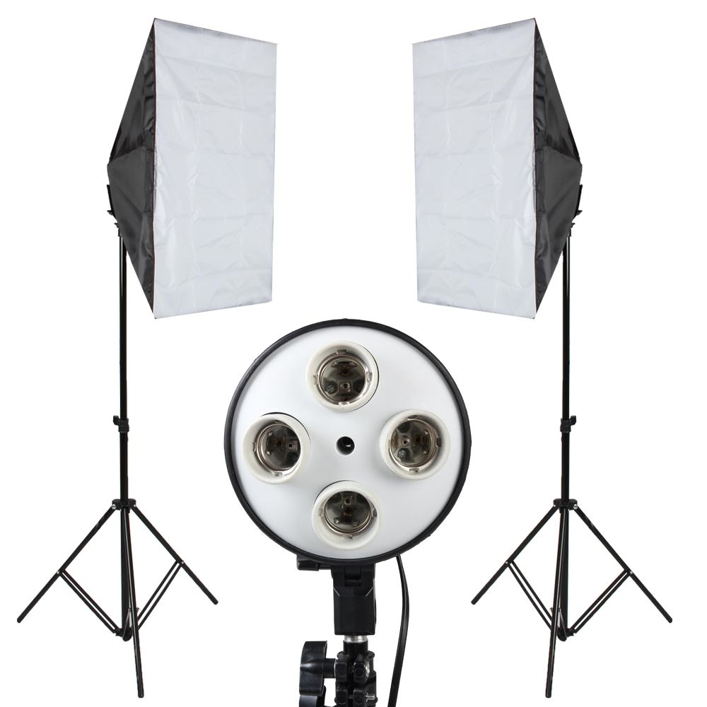 ASHANKS Soft Box Photography lights Photo Studio Softbox Kit Photo Equipment Of Fill Light For Camera Photo Studio Diffuser