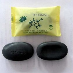 Black New Tourmaline Soap Personal Care Soap Face & Body Beauty Healthy Care SSwell