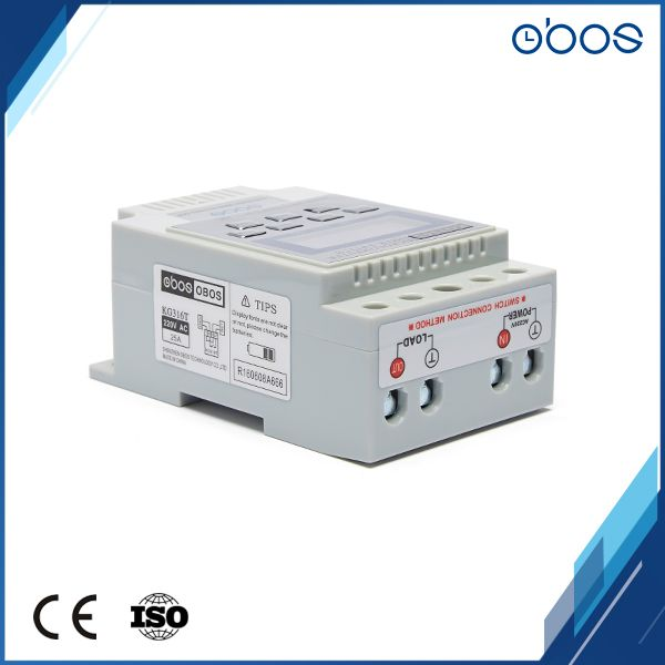 OBOS Brand free shipping digital 12V time switch timer 12V with 10times on /off per pay /weekly timing set range 1min-168H