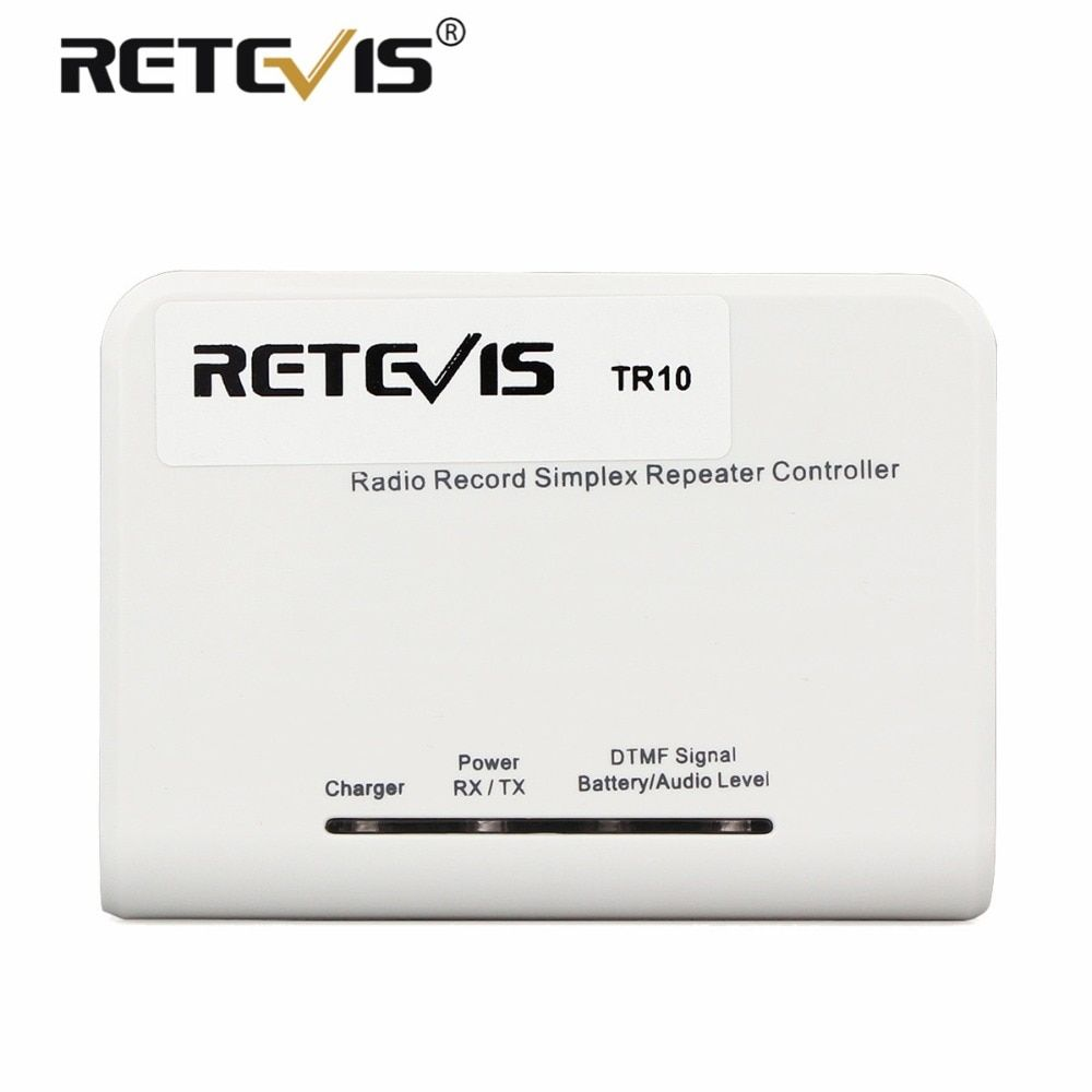 Retevis TR10 Simplex Repeater Controller For Analog Walkie Talkie Two Way Radio C9063A