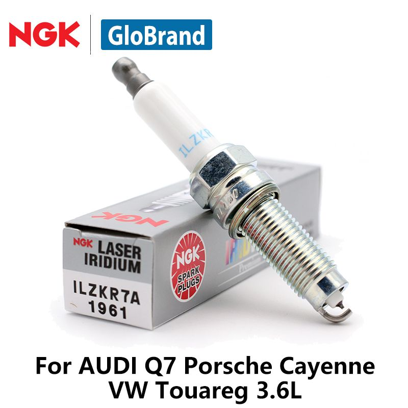 4pcs/lot NGK Car Spark Plugs For AUDI Q7 Porsche Cayenne VW Touareg 3.6L iridium platinum ILZKR7A 1961