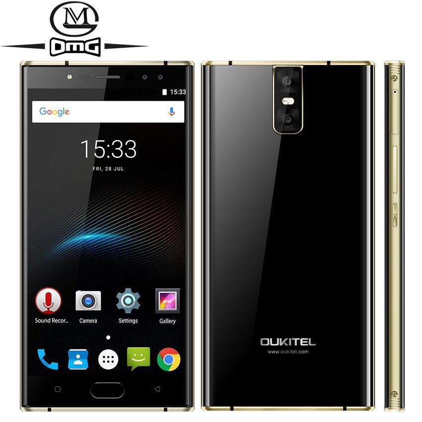 Oukitel K3 6000mAh mobile phone MT6750T Octa Core 4GB RAM 64GB ROM 5.5