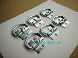 6PCS High quality deck ring, lashing ring, rope ring D ring tie down point anchor for trailers trailer parts accessories