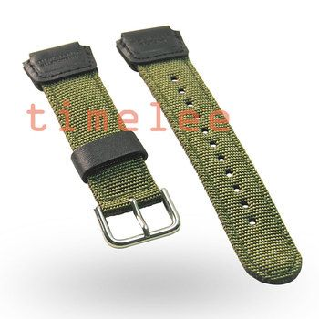 New replacement  watch band  Strap for CASIO AE-1200WH SGW-300/400/500/AE-1000 AQ-S810 MRW-200 Driving Sport nylon Watchband