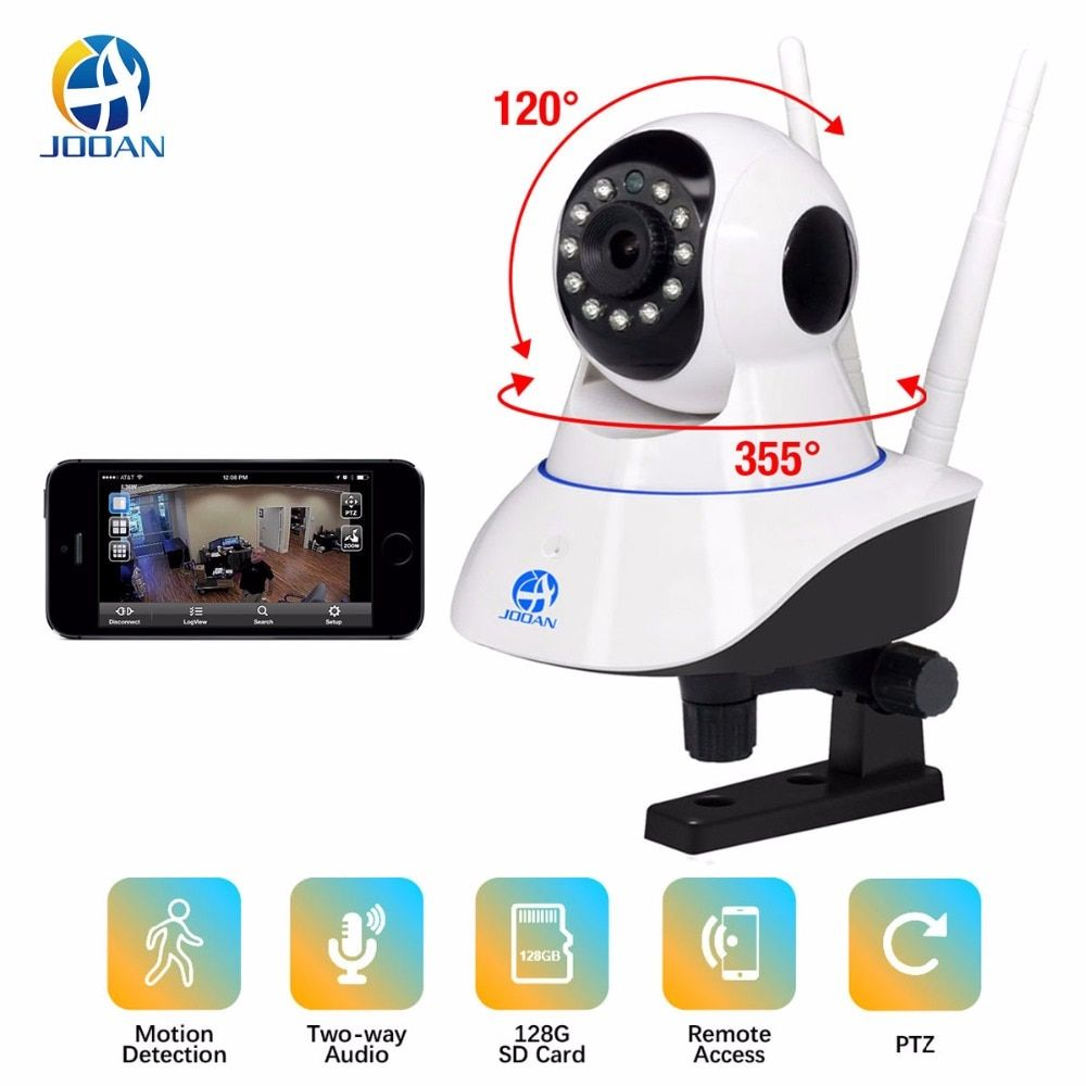 JOOAN 1080P Wireless IP Camera  720P HD smart WiFi  Home Security  IRCut Vision  Video Surveillance CCTV Pet / Baby Monitor
