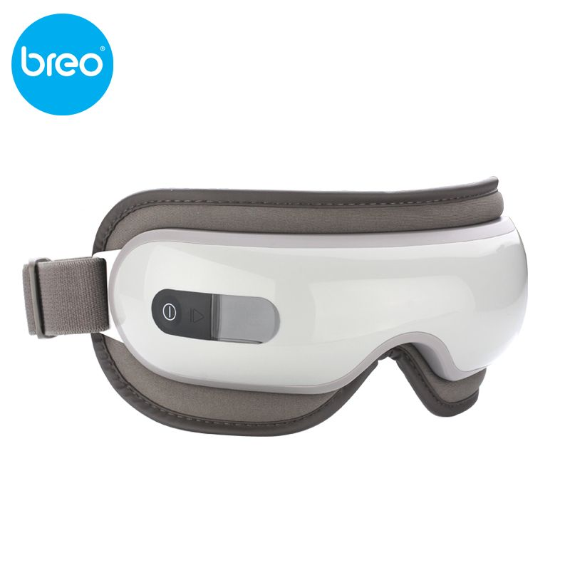 KIKI Beauté monde Nouveau style Breo isee16 pression de l'air Eye massager avec mp3 eye magnétique infrarouge lointain chauffage soins oculaires outils