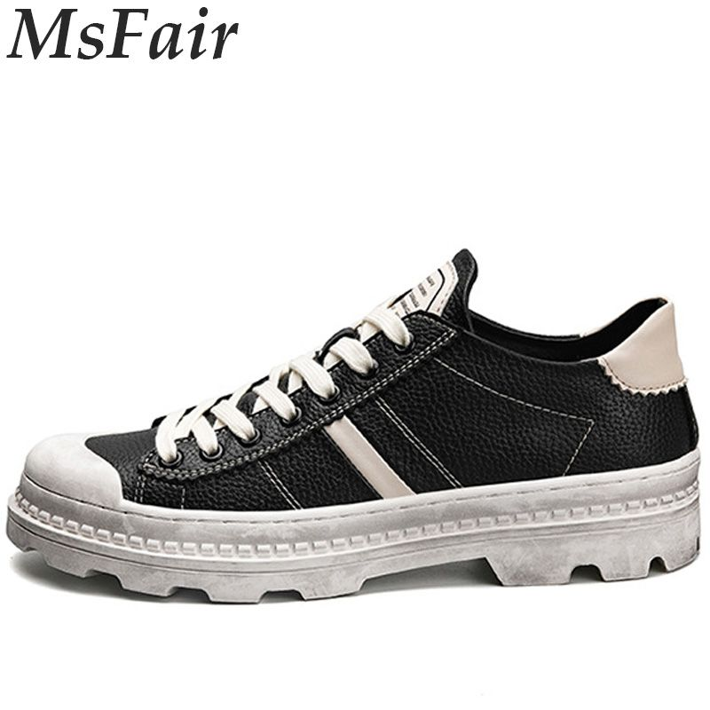 MSFAIR Summer Men Skateboarding Shoes Outdoor Athletic Man Brand Future Suede Lite Canvas Shoes Skate Breathable Mens Sneakers