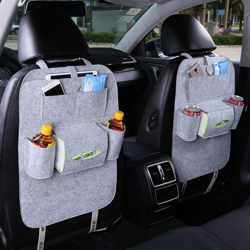 Urijk 1 шт. заднее сиденье автомобиля хранения Организатор мусора чистая держатель Multi-карманы дорожная сумка для хранения вешалка для авто че...