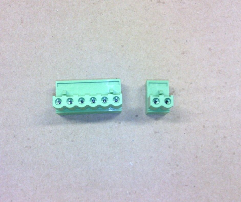 Wholesale 10 sets a lot New green 6 PIN 0.8mm terminals and 2 PIN SPlice a set can use on the CNC system