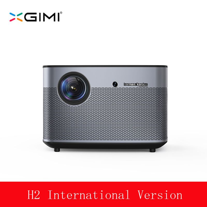 XGIMI H2 Video Projektor 4 K Volle HD 1350 ANSI Lumen 1080 p LED 300 3D Video Android Wifi bluetooth Smart Theater HDMI 4 K Beamer