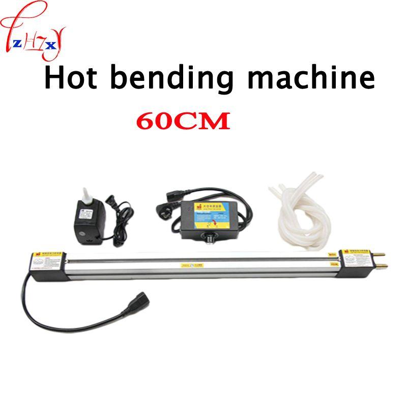1 set 23 ''(60 cm) acryl Hot-biege Maschine Plexiglas PVC Kunststoff bord Biegen Gerät Werbung zeichen und licht box 110/220 V