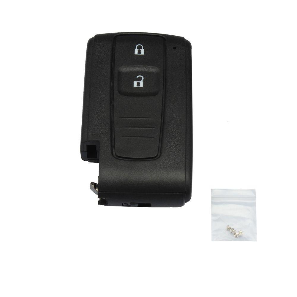 2 boutons clé intelligente à distance Fob boîtier clé Shell pour TOYOTA Prius 2004 2005 2006 2007 2008 2009