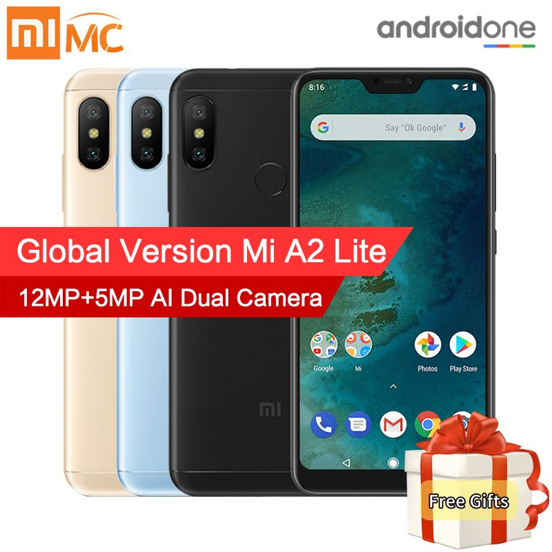 Global Version Xiaomi Mi A2 Lite 3GB 32GB Smartphone 5.84