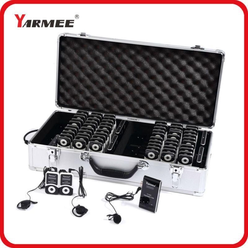YARMEE Heißer Verkauf Wireless Tour Guide System/Wireless Kirche System (4 t/60R) YT100