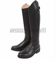 Kulit bootshorse naik Berkuda Naik Sepatu boots boots dan ksatria sepatu bot Kulit tinggi
