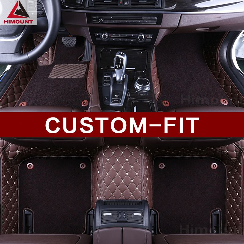 Custom made car floor mats for Honda Odyssey 3rd 4th 4th generation full cover high quality luxury car-styling rugs liners