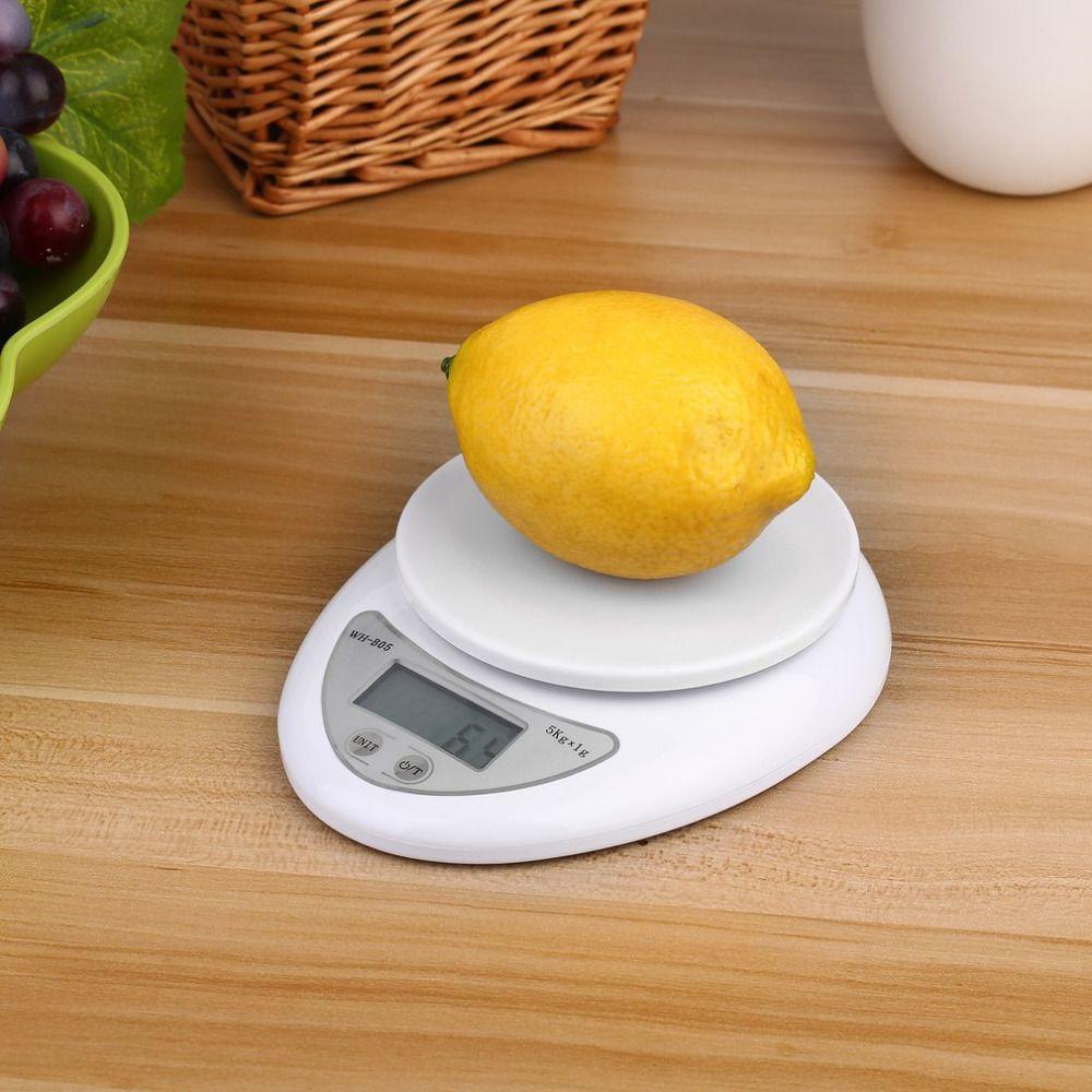 New Balance 5 кг/1 г Цифровой Вес Детские весы Кухня Еда Диеты Почтовый Весы электронные весы Вес ing LED Электронный WH-B05