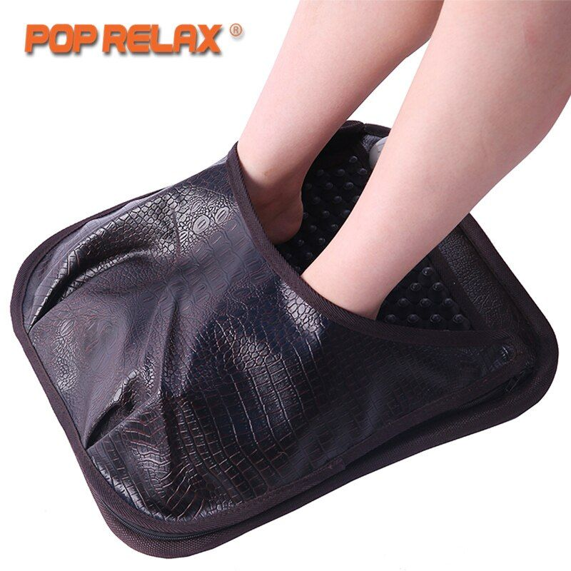 POP RELAX NUGA BEST NM55 Second Heart Foot Acupuncture Massage Mat Ion Korea Tourmaline Germanium Mattress Heating Pad Massager