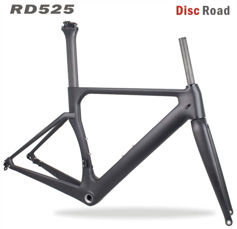 MIRACLE Bikes 2017 Aero Disc Carbon Road Frame 142*12mm Cadre Carbone Route 700c Bicicleta Carbon bike frame RD525