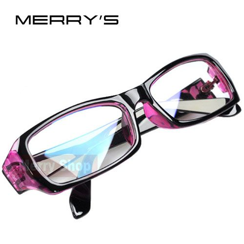 Women Radiation protection Glasses Computer mirror Eyeglasses Frame anti-fatigue goggles Blue Film