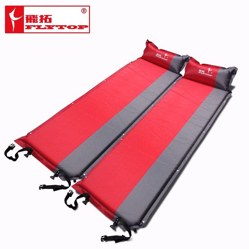2016 heißer verkauf (170 + 25) * 65*5 cm einzelne person automatische aufblasbare matratze outdoor camping angeln strand mat auf verkauf/großhandel
