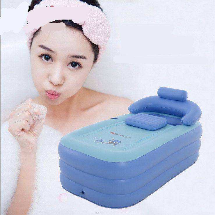 VILEAD Antifreezing Adult Warm Inflatable Bathtub Infant Swimming Pool Bath Pool Family Swimming Pool