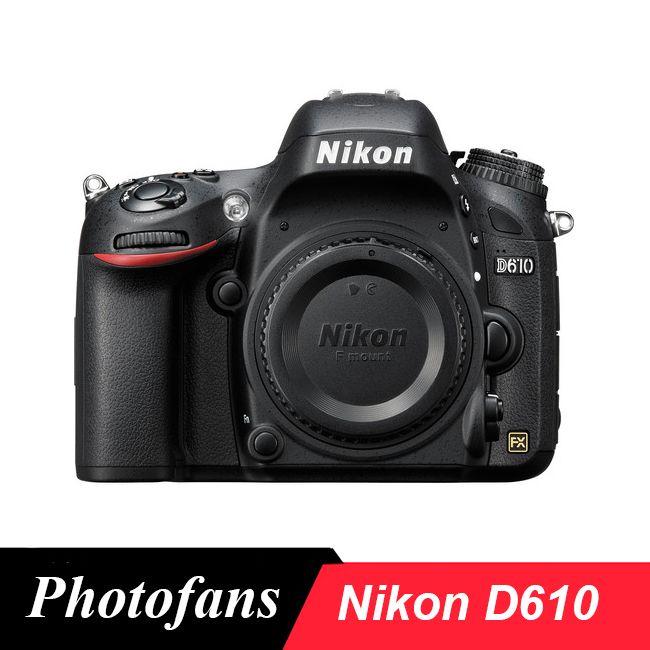 Nikon D610 DSLR Kamera FX-Format-24,3 megapixel-1080 P Video 3,2 LCD (Marke Neue)